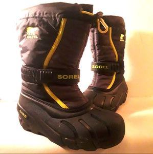 Sorel Cub Size 2 Winter Waterproof Boots